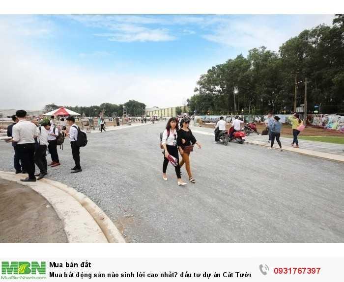 Đất nền dự án Cát Tường Phú Bình