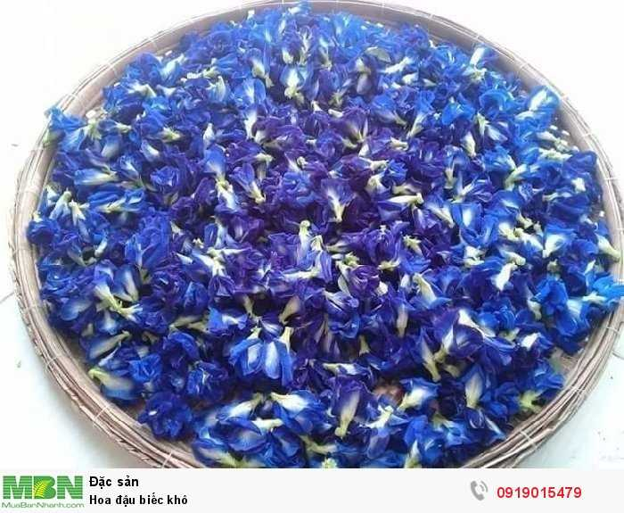 1 lạng Hoa đậu biếc khô