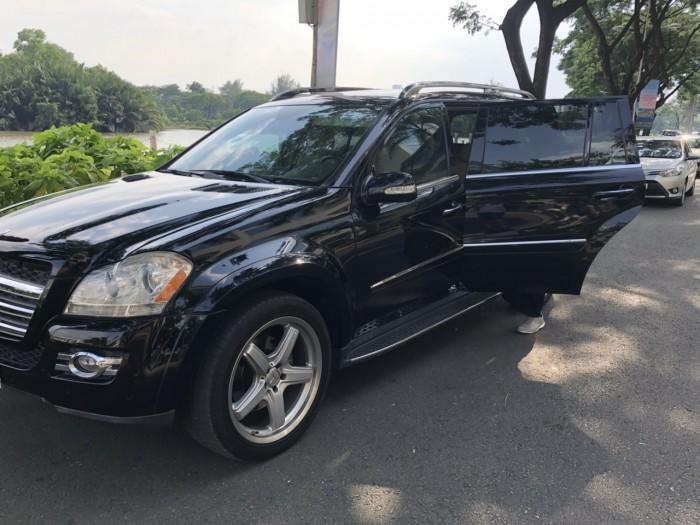 Mercedes-Benz GL550 sản xuất năm 2008 Số tự động Động cơ Xăng
