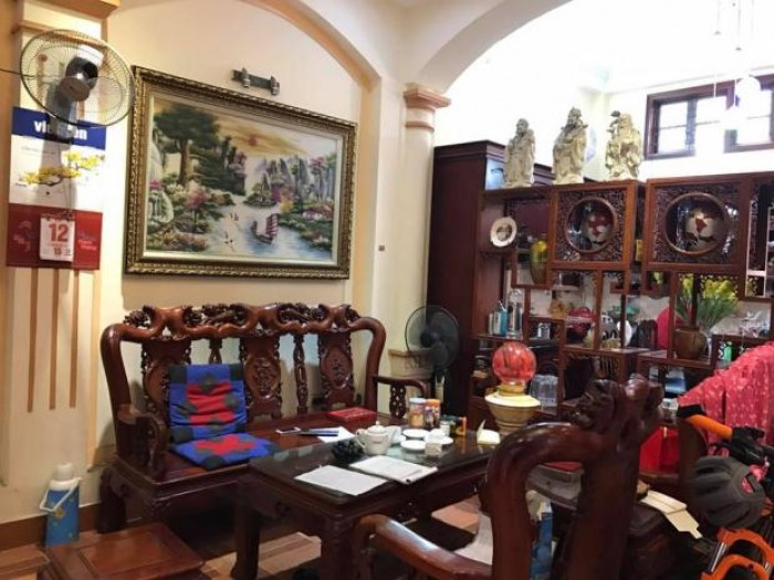 Bán nhà riêng Khương Trung,ô tô đỗ cửa,dt 84m,mt 5m,4 tầng