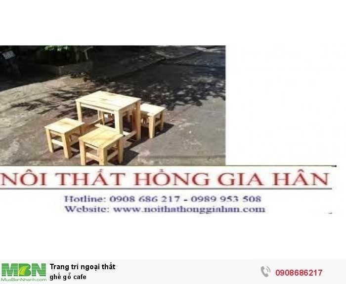 Ghế gỗ cafe3