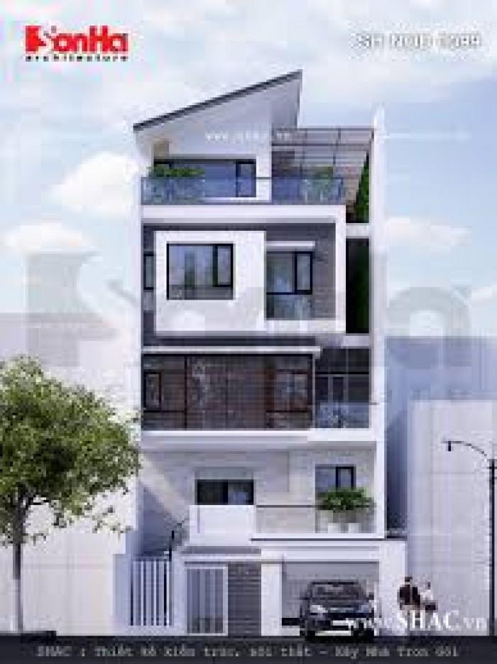 Nhà hẻm Cư xá Quận 3, DT 3 x 8.4m, Kết cấu 3 tầng