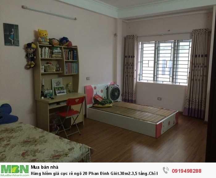 Giá cực rẻ ngõ 20 Phan Đình Giót.30m2.3,5 tầng