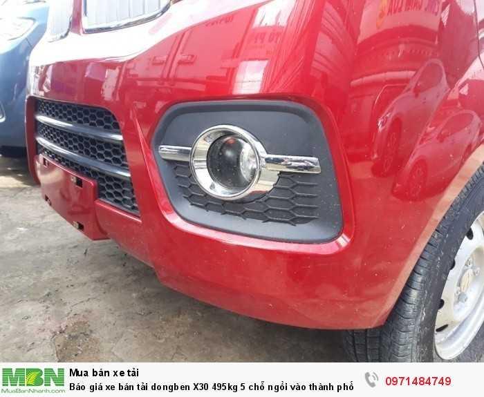 Xe bán tải dongben x30 v5 495kg chính sách bảo hánh 3 năm hoặc 100.00km.