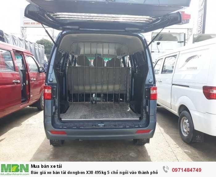 Giá xe bán tải dongben X30 495kg 5 chỗ ngồi vào thành phố Ô Tô Phú Mẫn khuyến mãi ngay tỳ hưu tài lộc bằng vàng 16