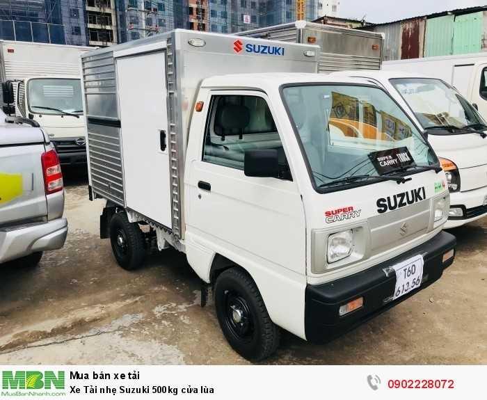 Xe Tải nhẹ Suzuki 500kg cửa lùa