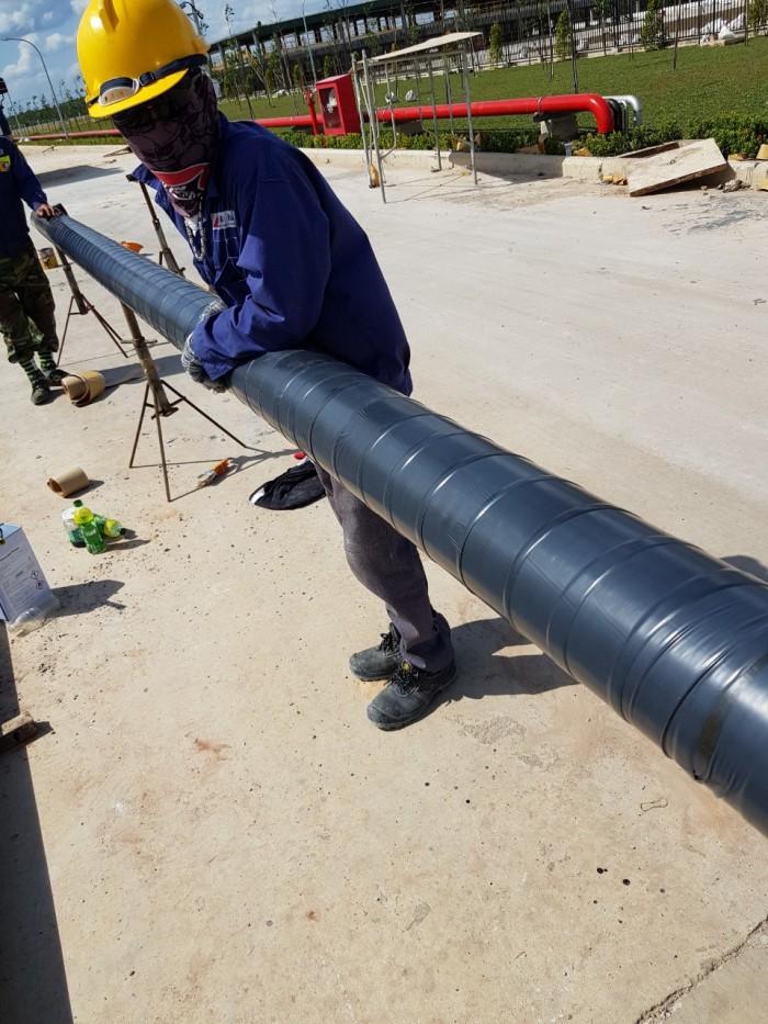 Vật liệu bảo vệ chống ăn mòn cho ống Kim loại chôn ngầm18