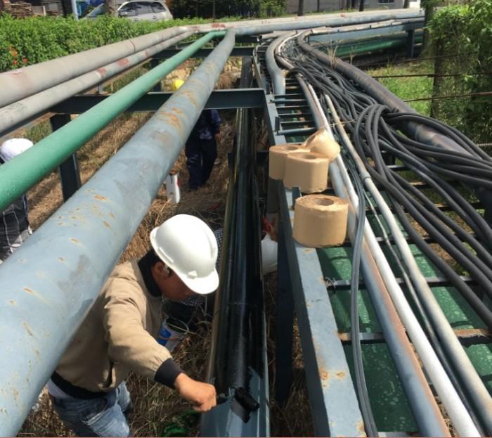 Vật liệu bảo vệ chống ăn mòn cho ống Kim loại chôn ngầm2