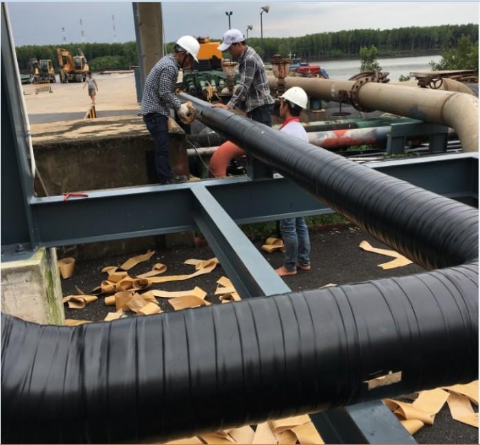 Vật liệu bảo vệ chống ăn mòn cho ống Kim loại chôn ngầm4