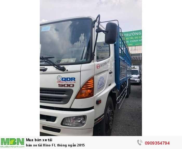 Bán xe tải Hino FL thùng ngắn 2015