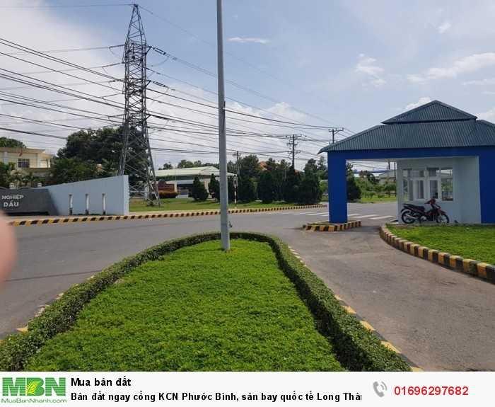 Bán đất ngay cổng KCN Phước Bình, sân bay quốc tế Long Thành