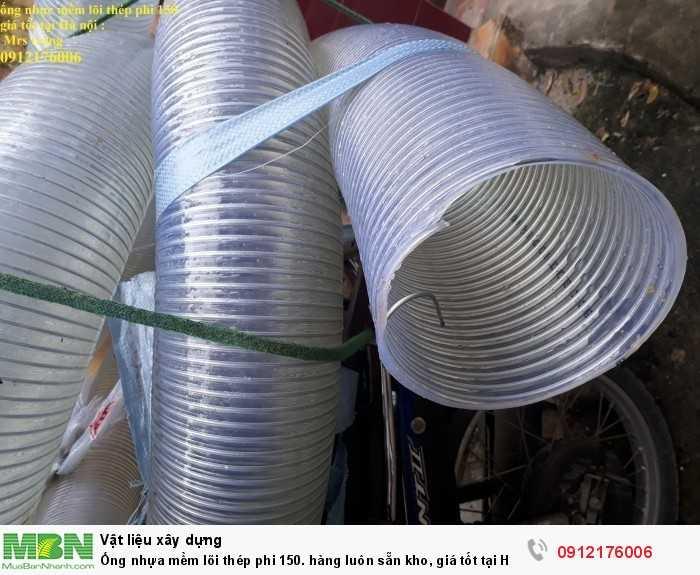 Ống nhựa mềm lõi thép phi 150. hàng luôn sẵn kho, giá tốt tại Hà Nội1