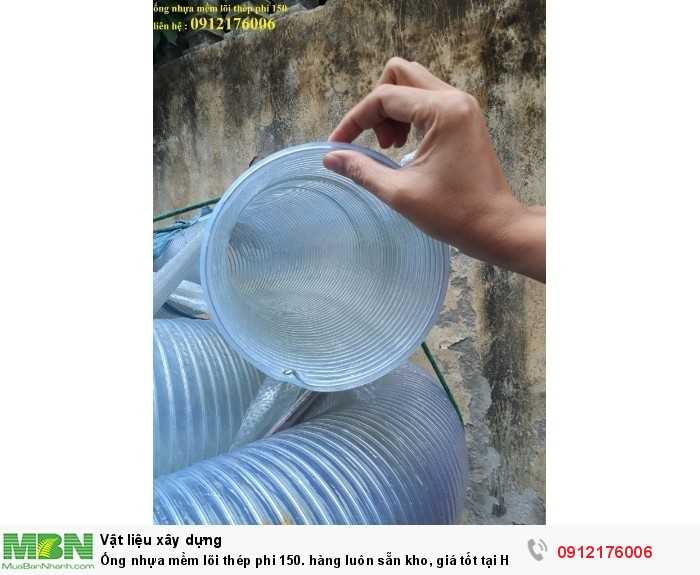 Ống nhựa mềm lõi thép phi 150. hàng luôn sẵn kho, giá tốt tại Hà Nội2