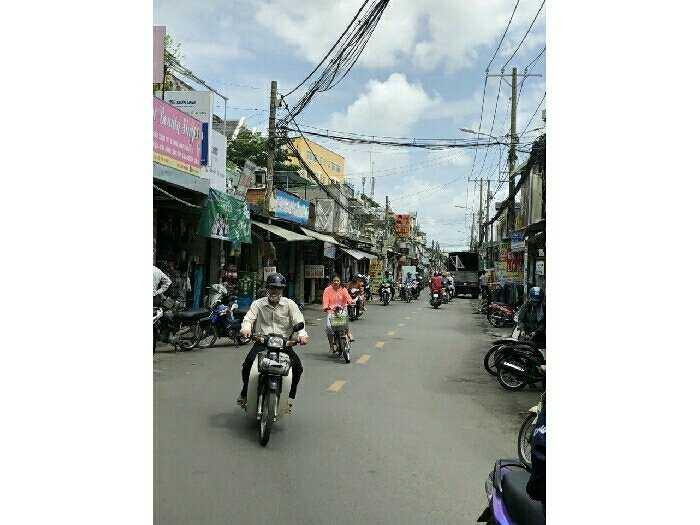 Mặt tiền nhà số 5 đường Dương Quảng Hàm