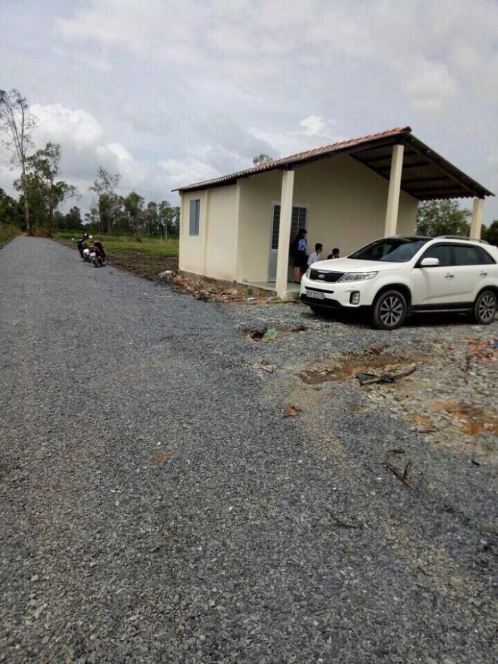 Bán lô đất vừơn có hạ tầng 500m2