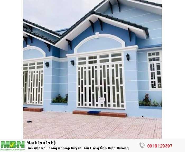 Bán nhà khu công nghiêp huyện Bàu Bàng tỉnh Bình Dương