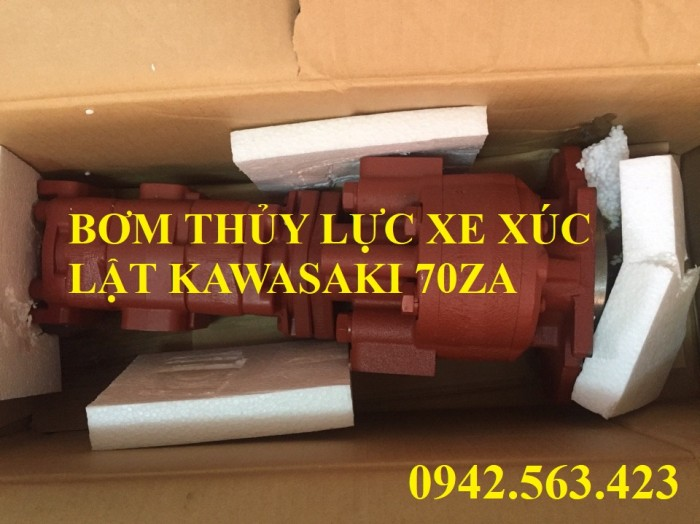 Bơm thủy lực xe xúc lật Kawasaki 70ZA