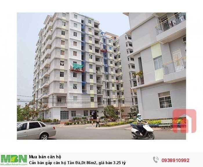Cần bán gấp căn hộ Tản Đà,Dt 86m2