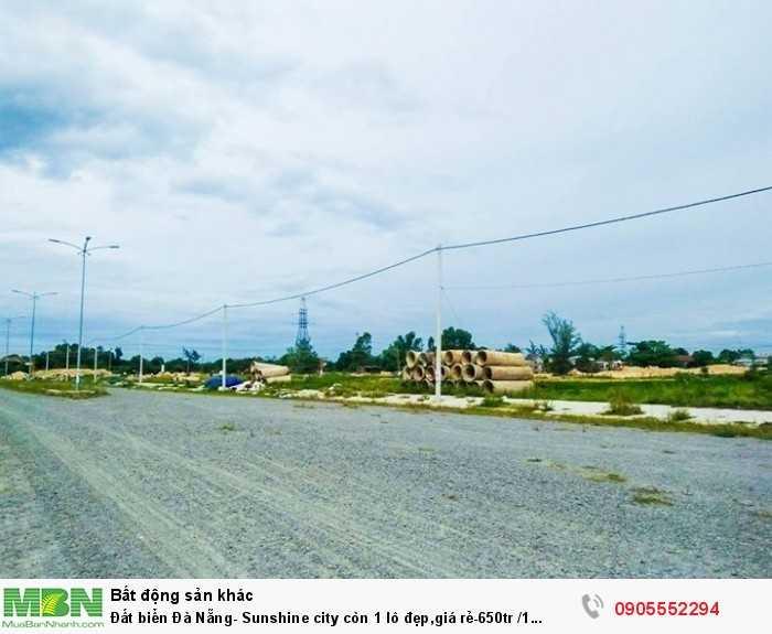 Đất biển Đà Nẵng- Sunshine city còn 1 lô đẹp, giá rẻ 1 lô.đầu tư nhanh?