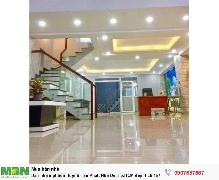 Bán nhà mặt tiền Huỳnh Tấn Phát, Nhà Bè, Tp.HCM diện tích 167m2