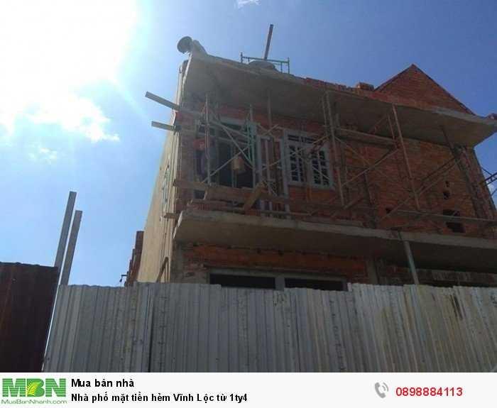 Nhà phố mặt tiền hẻm Vĩnh Lộc