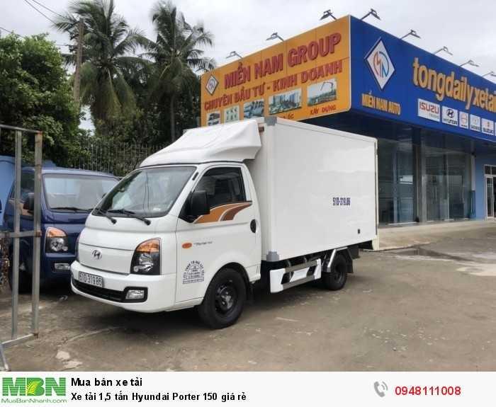 Xe tải 1,5 tấn thùng kín