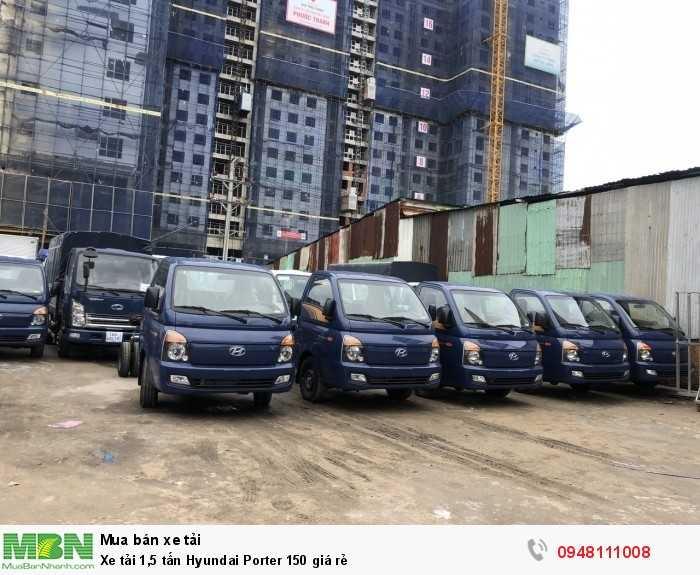 xe tải tấn rưỡi Hyundai H150