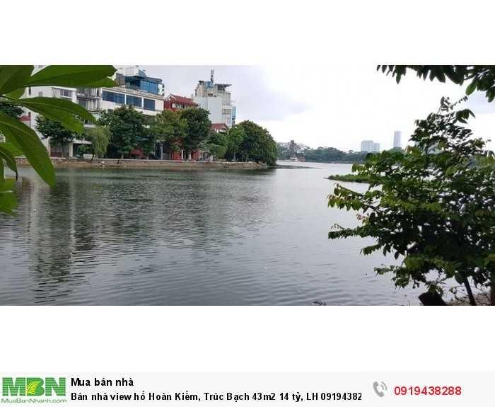 Bán nhà view hồ Hoàn Kiếm, Trúc Bạch 43m2