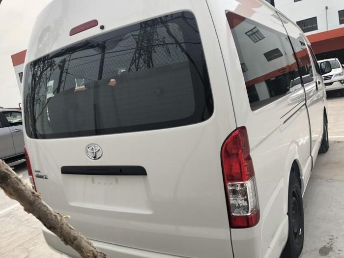 Toyota Hiace 15 Chỗ Nhập Khẩu Thái Lan Có Xe Giao Ngay 4