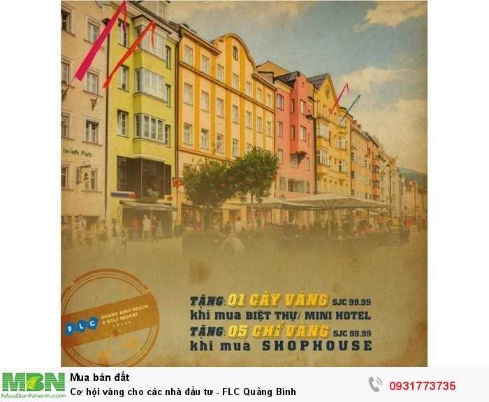 Cơ hội vàng cho các nhà đầu tư - FLC Quảng Bình