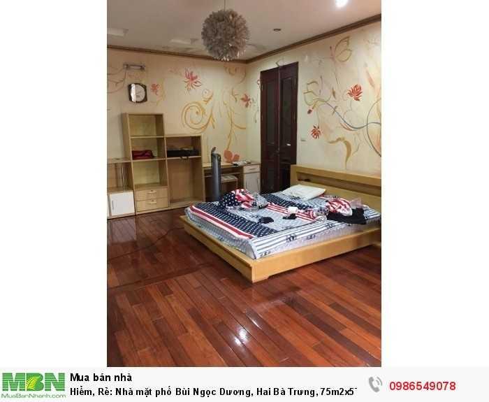 Nhà mặt phố Bùi Ngọc Dương, Hai Bà Trưng, 75m2x5T