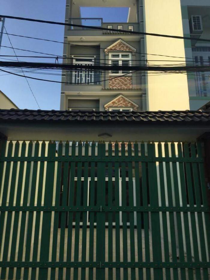 Nhà #Trương_Đình_Hội Quận 8 đường xe hơi 6m ,cách mặt tiền lộ chỉ 50m.