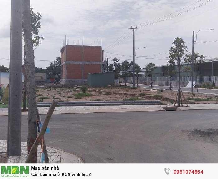 Cần bán nhà ở KCN Vĩnh Lộc 2