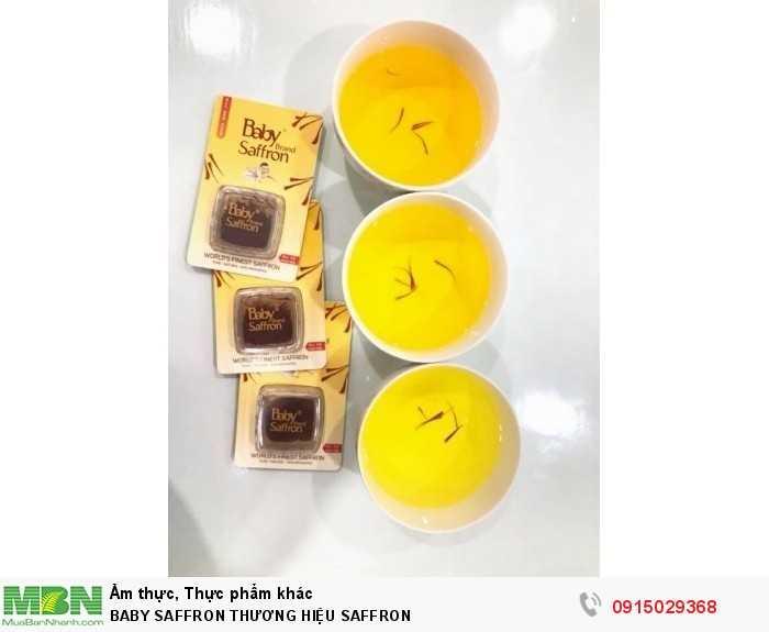 Baby Saffron Nhụy hoa nghệ tây set 2gr2