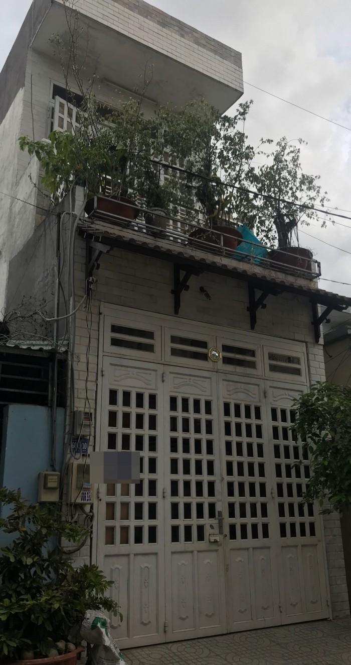 Hẻm 7m Đường Bờ Bao Tân Thắng, Nhà 1 Lầu DT 4x16m