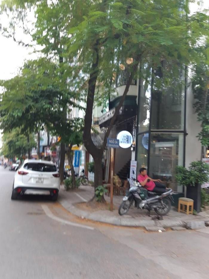 Bán gấp nhà LÔ GÓC phố Nguyễn Cơ Thạch 100m2, 4 tầng, Mt 14m