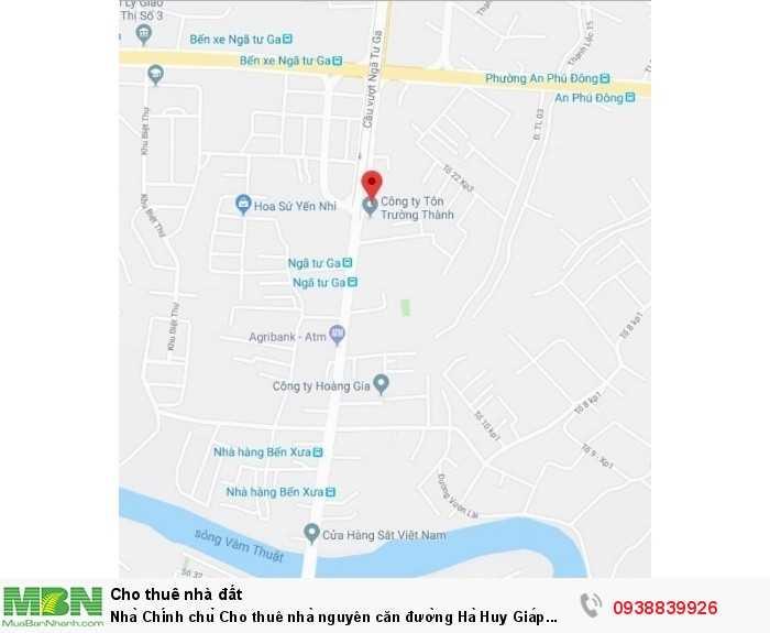 Nhà Chính chủ Cho thuê nhà nguyên căn đường Hà Huy Giáp Phường Thạnh Lộc Quận 12 Tp. Hồ Chí Minh giá 16tr/tháng.