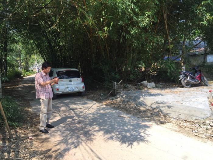 Chính chủ cần bán lô đất 2 mặt tiền kiệt ô tô Minh Mạng, Huế...!!!