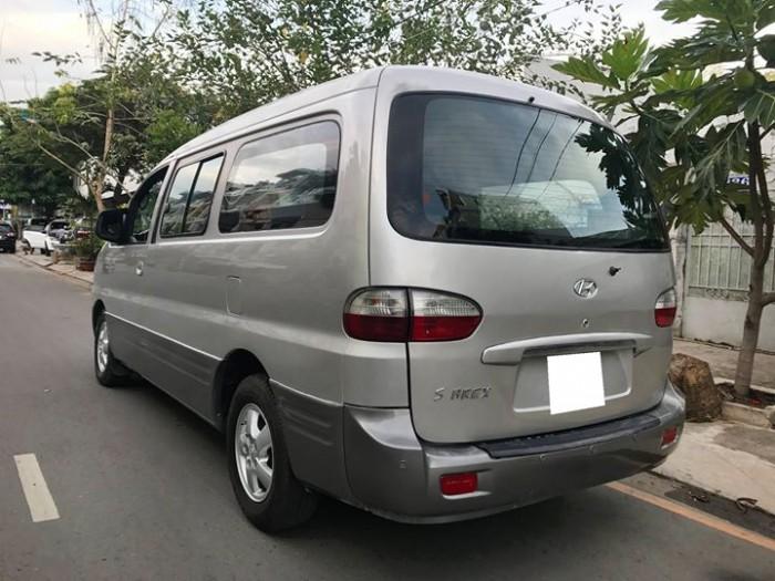 Hyundai Starex sản xuất năm 2005 Số tay (số sàn) Động cơ Xăng