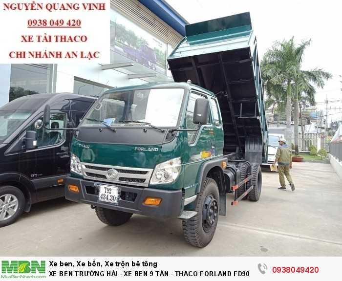 Xe Ben Trường Hải - Xe Ben 9 Tấn - Thaco Forland FD9000 - Bán Xe Trả Góp