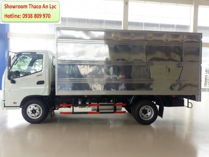 Bán xe Tải OLLIN350.E4 tải 2.15 tấn đời xe 2018, tiêu chuẩn khí thải Euro 4