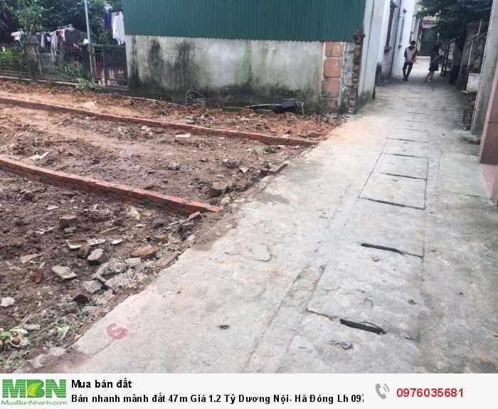 Bán nhanh mảnh đất 47m Dương Nội- Hà Đông