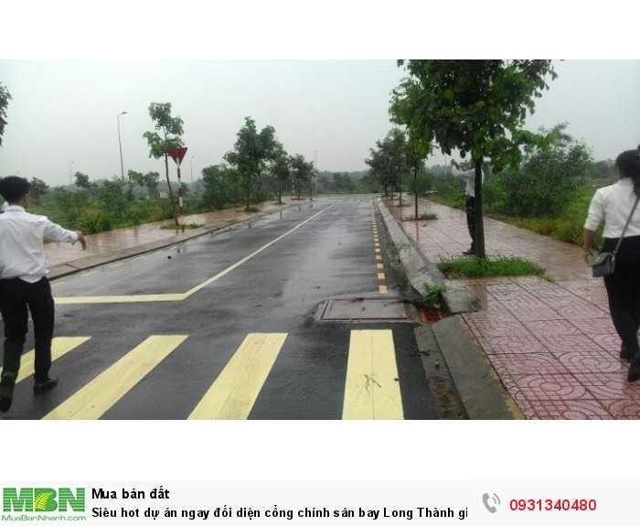 Siêu hot dự án ngay đối diện cổng chính sân bay Long Thành giá chỉ 597tr/ 100m2,