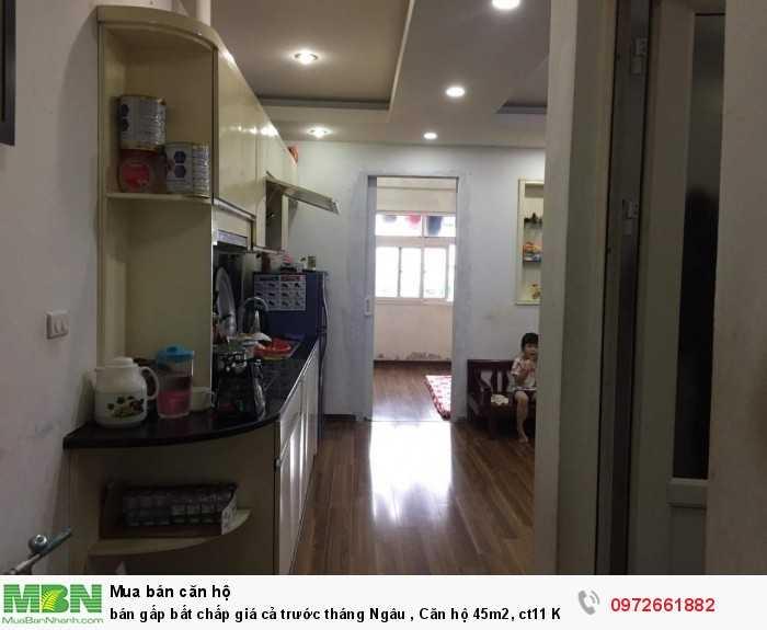 Bán gấp bất chấp giá cả trước tháng Ngâu căn hộ 45m2, ct11 Kim Văn Kim Lũ
