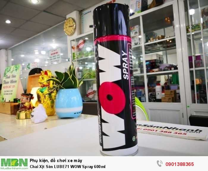 Chai Xịt Sên LUBE71 WOW Spray 600ml