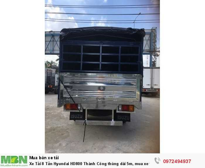 Giá Xe tải 8 Tấn HD800 Thùng Mui Bạt. Giá Rẽ Nhất Thị Trường.