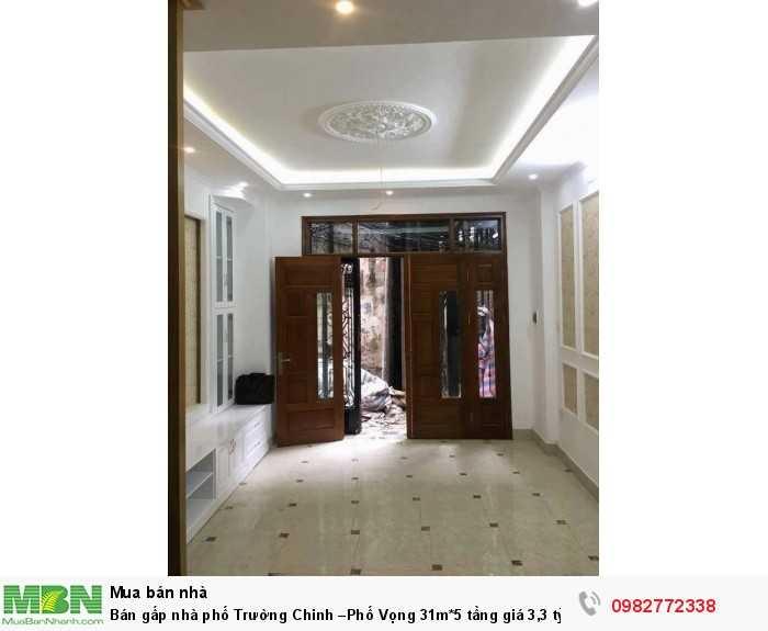 Bán gấp nhà phố Trường Chinh –Phố Vọng 31m*5 tầng