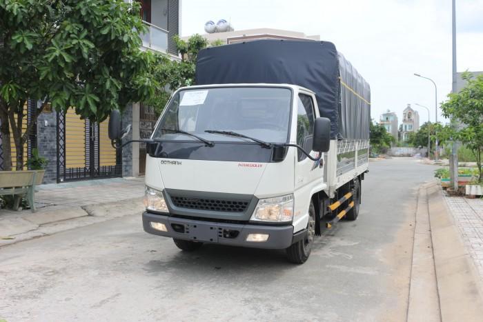 Xe tải hyundai đô thành 2.4T thùng dài 4m3, mới 100% đời 2018