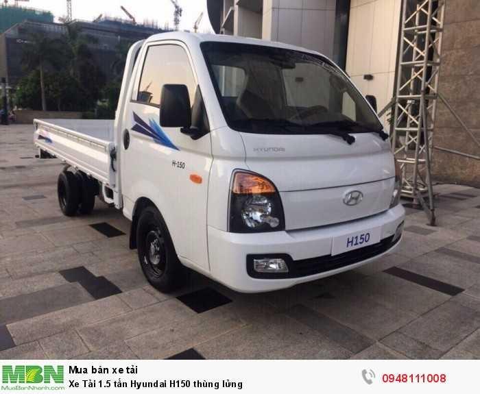 Xe tải 1,5 tấn thùng lửng Hyundai H150