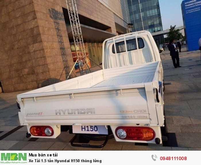 Xe tải 1 tấn rưỡi thùng lửng Hyundai H150